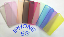 NEW - BLUE - iPhone 5 & 5s cover case protection BRAND NEW