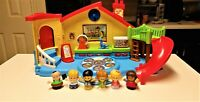 Fisher-Price Little People Place Musical School Preschool Playground Playset