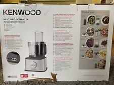 Brand New Boxed Kenwood Multipro Compact+ FDM312SS 800W 2.1L Food Processor