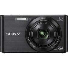 Sony Cyber-shot DSC-W830 20.1MP Digital Camera - Black point and shoot