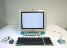 Apple iMac 1999 G3 Blueberry OS 9.2, 400 MHz FREE SHIPPING (Tested and Working)