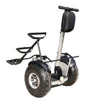 Angelol 2400w/60v Off Road Electric Self Balance Golf Cart Vehicle GPS & APP