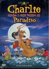 CHARLIE Anche i Cani Vanno in Paradiso - (1989) STEEL BOOK - DVD NUOVO