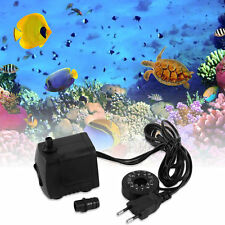 15W AC 220-240V 12 LED Submersible Water Pump For Aquarium Fountain Fish Tank G1