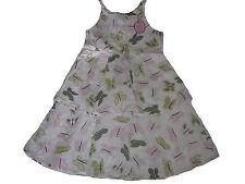 H M magico Vestito Tgl 122-bianco-rosa-verde con Winnie Pooh