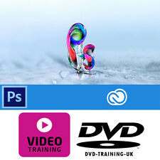 Adobe PhotoShop CC Creative Cloud – Professional Video Training DVD