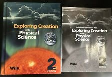 Apologia Exploring Creation with Physical Science Textbook & Solutions & Tests