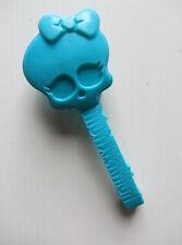 MONSTER HIGH - Doll Accessory - SKULL BRUSH - BLUE