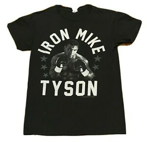 Official Iron Mike Tyson Heavyweight Champion of the World HOF Boxer Shirt Small