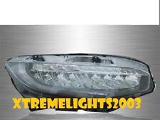 FITS HONDA CIVIC EX LX EX-L 2016-2017 RIGHT PASSENGER LED HEADLIGHT HEAD LAMP
