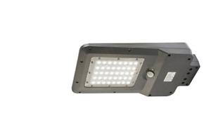 Lampada lampione stradale 15w con pannello solare STREET LUCE LED sensore FARO