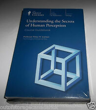 The Great Courses Understanding The Secrets of The Human Perception - Brand NEW