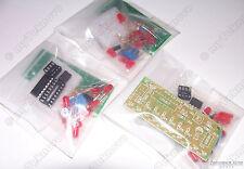 3x NE555 CD4017 LED Light Chaser Sequencer Follower Scroller DIY KIT USA