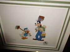 Disney Film Cels  Bill Posters Donald Duck