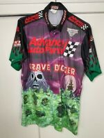 2008 Grave Digger Advance Auto Parts Monster Jam Race Used Pit Crew Shirt Medium