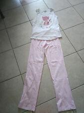 Pyjama débardeur pantalon motif chat, 3Suisses collection, 12 Ans