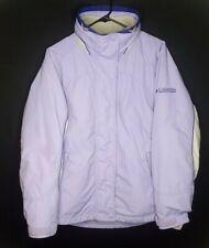 Columbia 3 in 1 Interchange Womens Size Medium Light Purple Winter Jacket Coat