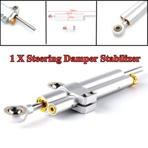 Steering Damper Linear Stabilizer Bar Bracket For Motorcycle Scooters Streetbike
