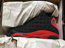 Air Jordan Retro 13   Black / True Red   Sz 10.5   2004 Release