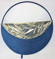 Reflektoren-Scheiben in Gold mit Tasche