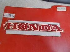 NOS OEM Honda Fuel Tank Emblem 1980 XL500S-A Dual Sport 87123-435-770