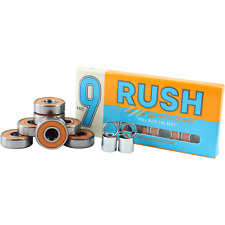 Rush Abec-9 Bearings With Spacers - 8 Pieces