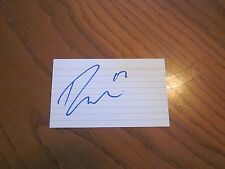 Ryan Macinnis Autographed 3X5 Index Card-Phoenix Coyotes-Team Usa