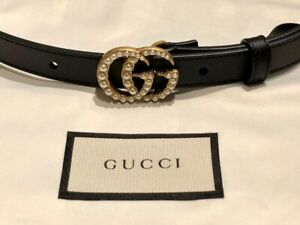 BEAUTIFUL ORIGINAL GUCCI LADIES THIN BELT