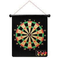 Bersaglio tiro a segno magnetico 6 freccette calamitate dardi gioco frecce