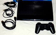 PLAYSTATION 3 SUPER SLIM KONSOLE (250 GB) + SONY SIXAXIS CONTROLLER + HDMI 250GB