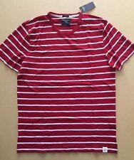 Abercrombie Fitch Short Sleeve Cotton Blend Crew Neck Men's T-Shirts