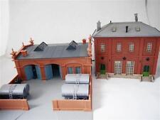Plastoy H0 Werkstatt + Vollmer 5708 Wasserhaus