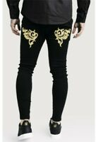 "Sik Silk x Dani Alves Low Rise Skinny Denims. Medium(32""). RRP £85"