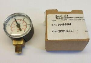 Wika Typ 111.10.040 -100/+150 kPa 2.Tlg psi R 1/8 30496667 20psi gauge