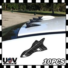 WRX Universal Carbon Fiber Shark Fin Jet Spoiler Diffuser Air Vortex Generator