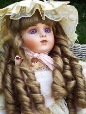 "French Bru Jne 14 Titianna Antique Repro Patricia Loveless porcelain Doll 27"""