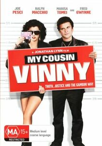 My Cousin Vinny DVD, NEW SEALED AUSTRALIAN RELEASE REGION 4