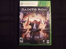 Replacement Case (NO GAME) SAINTS ROW IV XBOX 360