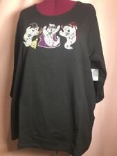 NWT-Catherine's 3X/4X? 26W/28W Holiday top Blouse Shirt Halloween Ghosts HH21