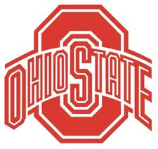 "(Set Of 2) 11.5"" Ohio State Corn Hole Board Decals"
