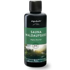 Saunaaufguss Bio-Öle AllgäuQuelle 100ml Duft Waldaufguss Fichte Latschenkiefer