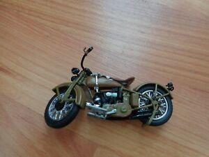 1/24 Franklin Mint Klassisch 1929 Seite Ventil Doppel Harley Davidson Motorrad