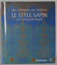 Style Sapin art Nouveau a la chaux-de-fonds jewelry furniture design watches