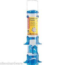 "Stokes Select Blue 6.2 W X 18"" H 3.2# Cap Jumbo Seed Tube Bird Feeder 38030"