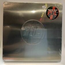 Public Image Limited - Metal Box: Deluxe Vinyl Box Set + Signed Card SEALED NOS