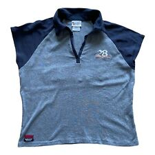 More details for walt disney world ladies polo shirt grey xl embroidered mickey mouse 1928 boxy