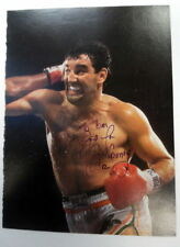 GERRY COONEY Autographed 1982 8x10 Magazine PAGE Boxer HEAVYWEIGHT Foreman PC945