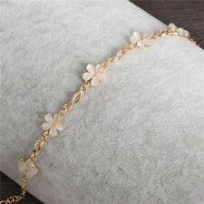 Bracelets Flower Shape Women Wholesale Generous Gold Jewelry Bracelet Opal