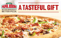 $10 / $25 / $50 Papa John's Pizza Gift Card - Mail Delivery