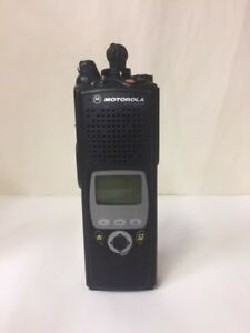 Motorola XTS 5000 Model II 800 Mhz P25 Portable Radio Black (Radio Only)